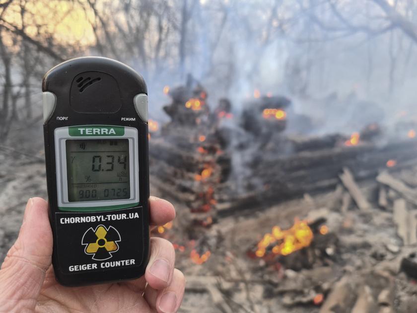 A hatóságok közlése szerint a radioaktív sugárzás szintje Kijev megyében és az ukrán fővárosban nem haladta meg a megengedett mértéket.