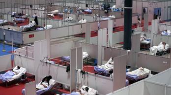 Spanyolországban ismét csökkent a halálesetek száma