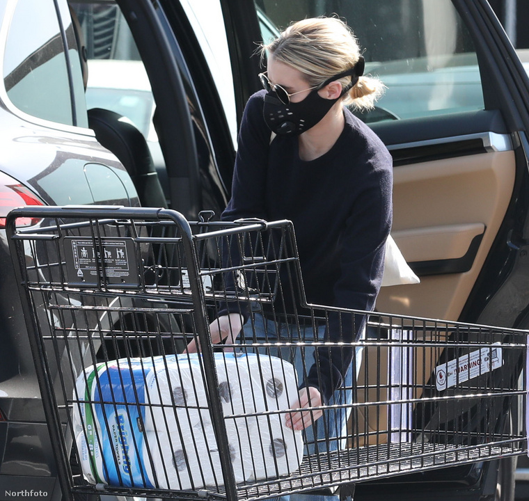 Akinek jelenleg az a legnagyobb gondja, hogyan tudja bepakolni a WC-papírját kocsija csomagtartójába