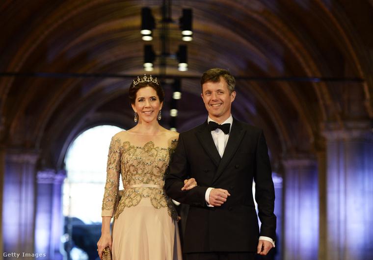 Magát az esküvőt 2004-ben tartották meg, a dán televízió fel is vette