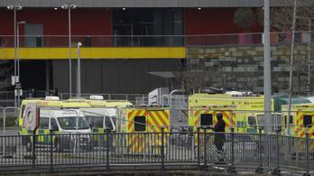 Angliában 403 új haláleset van, Belgiumban 20 000 fölött jár a fertőzöttek száma