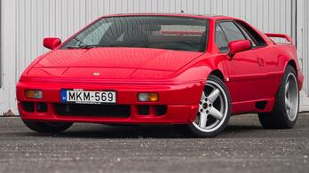 Használtteszt: Lotus Esprit SE Turbo