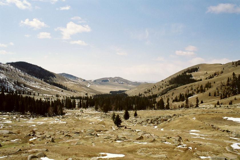 mongólia hegység