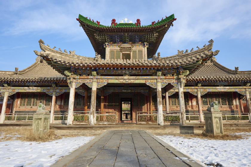 mongólia téli palota
