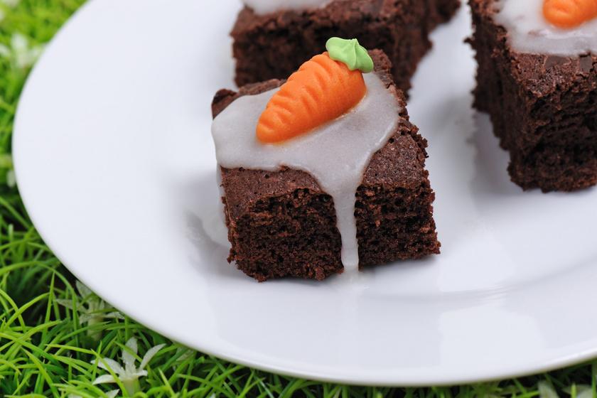 Dupalcsokis húsvéti brownie: ünnepi süti 30 perc alatt