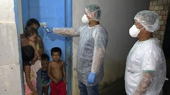 A koronavírus kiirthatja Amazónia őslakosait