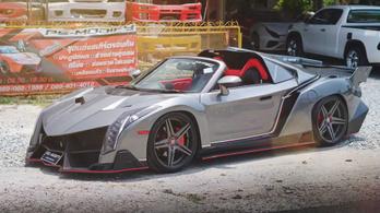 Hondákból és Toyotákból csinálnak Lamborghinit, 12 millió forintért