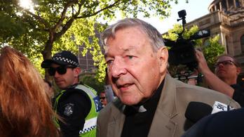 Felmentették a gyermekmolesztálás vádja alól George Pell ausztrál bíborost