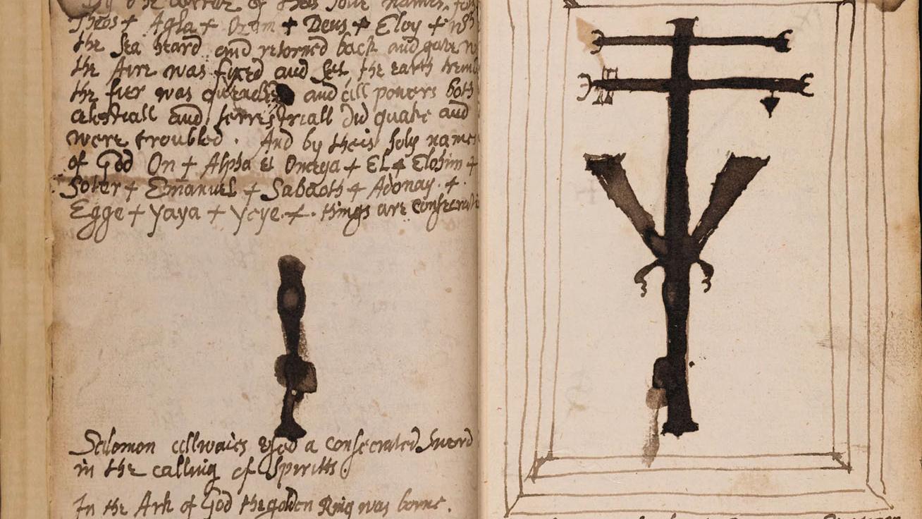 Borzongató a lapokra nézni: középkori boszorkányok írták a 17. századi könyveket