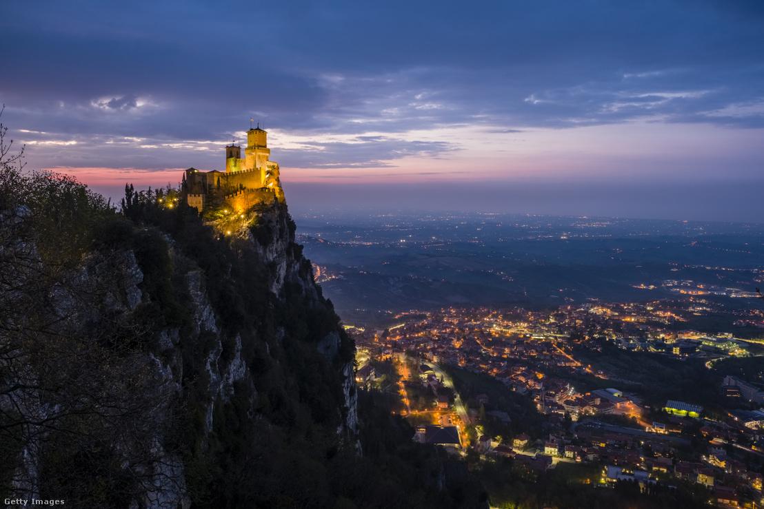 Guaita Erőd, San Marino emblematikus jelképe