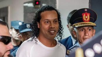 Házi őrizetbe engedték a börtönből Ronaldinhót