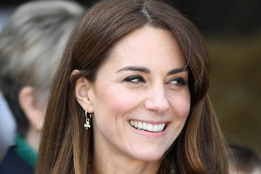 Katalin egyik legszebb sárga ruháját viselte újra: nagyon csinos volt a hercegné