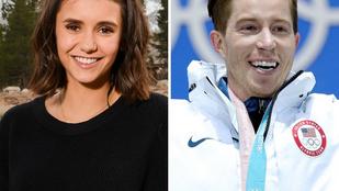 Nina Dobrev egy olimpiai bajnokkal töltötte az éjszakát