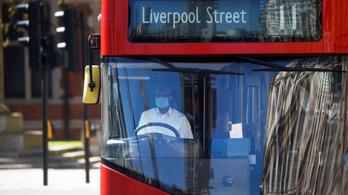 Már 9 buszsofőr halt meg Londonban koronavírus-fertőzésben