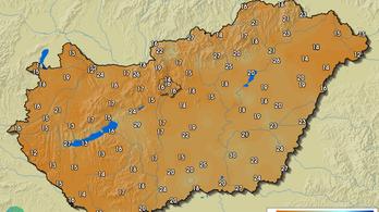Rendkívül száraz a levegő Magyarországon