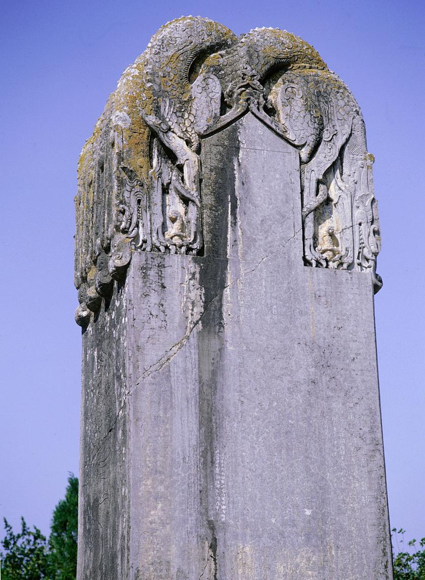 Vu császárnő síremléke.