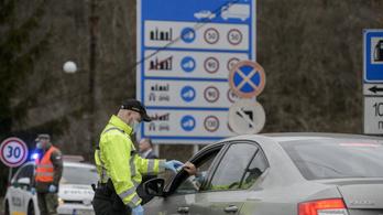 Hatalmas torlódásokat okoztak a járvány miatt lezárt határátkelők Szlovákiában