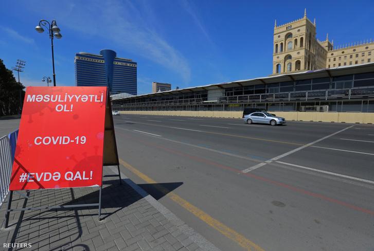 A június első hétvégéjére kiírt Forma–1-es Azerbajdzsáni Nagydíjat is elhalasztották