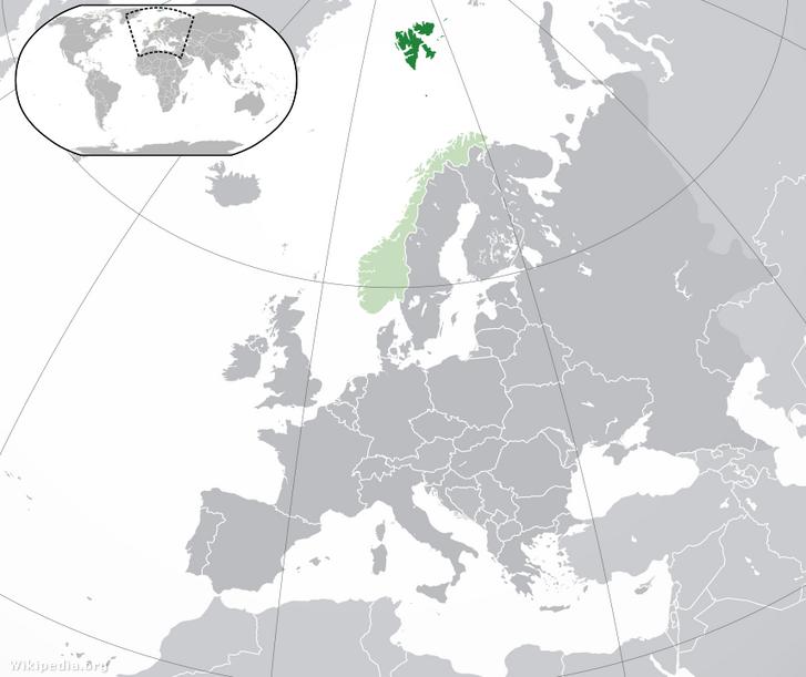 A Spitzbergák északon zölddel