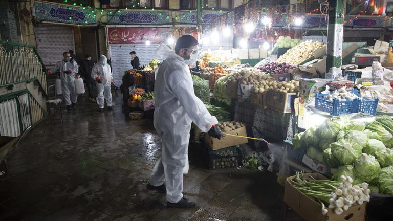 Iránban lassulni látszik a járvány terjedése