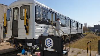 Ózonos fertőtlenítést tesztel a BKV a metrón