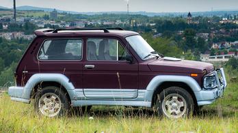 Teszt: Lada Niva 1.7i USA – 1996.