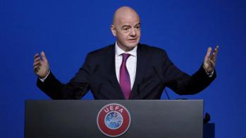 A FIFA-elnök szerint teljesen meg fog változni a futball a koronavírus-járvány után