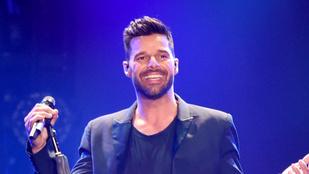 Ricky Martin megmutatta legkisebb gyermekét
