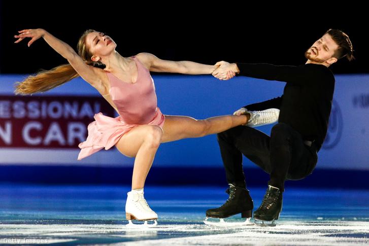 Alekszandra Sztyepanova és Ivan Bukin