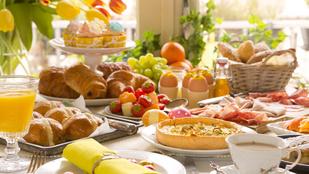 Ebben a húsvéti quiche-ben a sonka és tojás maradéka is elfér