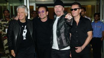 A U2 tízmillió dollárt adományozott a vírus elleni védekezésre Írországnak
