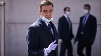 Spanyol miniszterelnök: Elértük a járvány csúcspontját