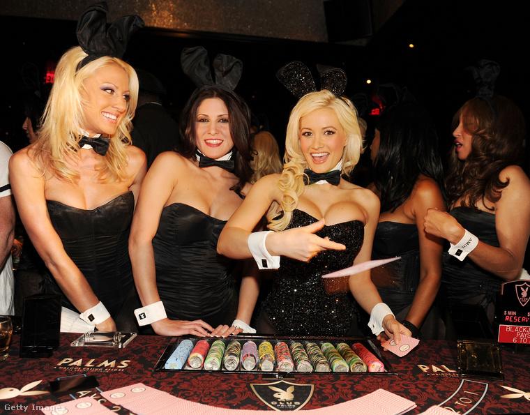 Holly Madison szintén a villalányokra fókuszáló sorozattal vált világhírűvé, sokáig szerelmes volt Hefnerbe, családot akart vele alapítani, azonban mikor ez nem sikerült továbblépet