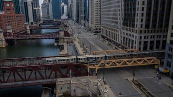 Chicagóban hűtőházat alakítottak át kétezer fős halottasházzá