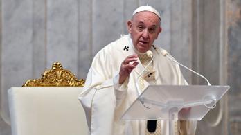 Ferenc pápa: A koronavírus lehet a természet válasza a klímaválságra