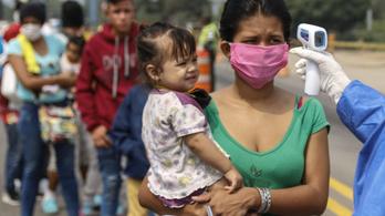 A koronavírus miatt menekültek tértek haza Venezuelába
