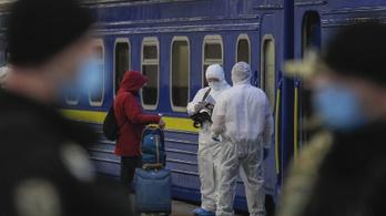Teljes kijárási tilalmat rendeltek el egy ukrán városban