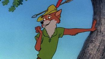 A Robin Hood rajzfilmet sem kerüli el a Disney élőszereplős őrülete