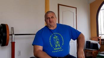 62 évesen visszatér az erősportoló Fekete László