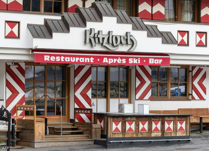 A Ktziloch bár 2020. március 13-án. Ezen a szórakozóhelyen sokan elkapták a vírust.