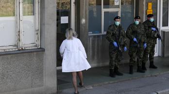 Szerbiában a fertőzöttek 12 százaléka orvos vagy nővér