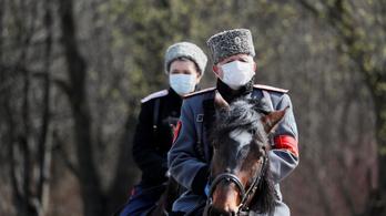Minden korábbinál több az új fertőzés Oroszországban