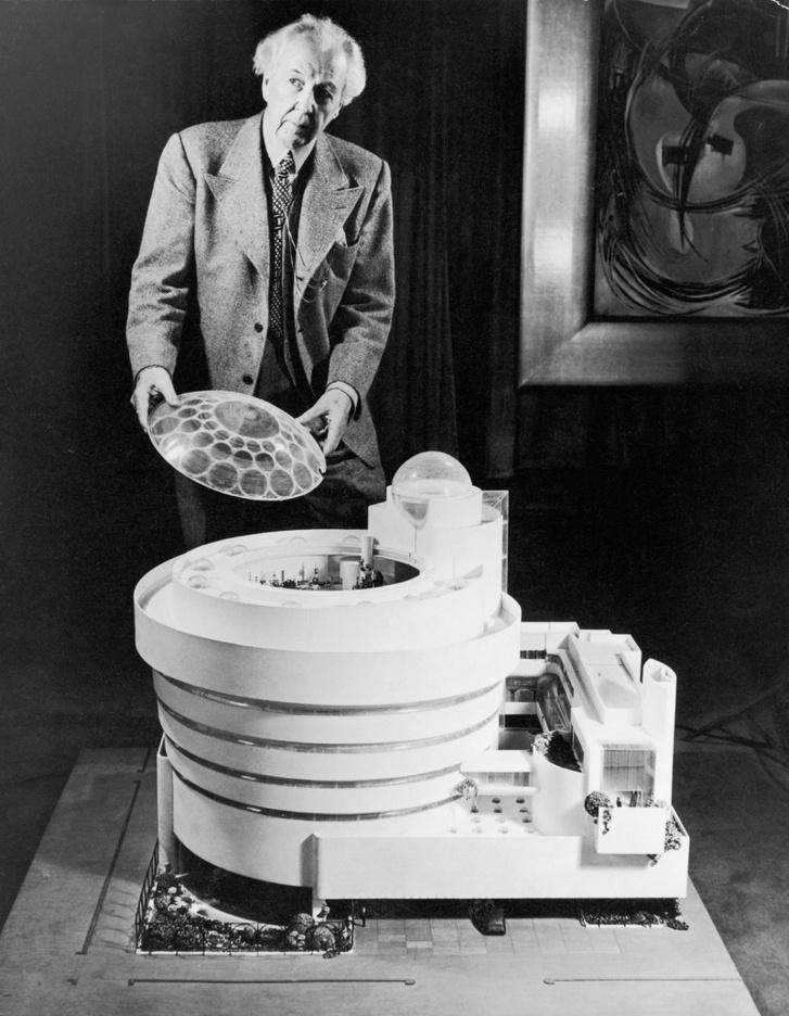 Frank Lloyd Wright és a Guggenheim Múzeum