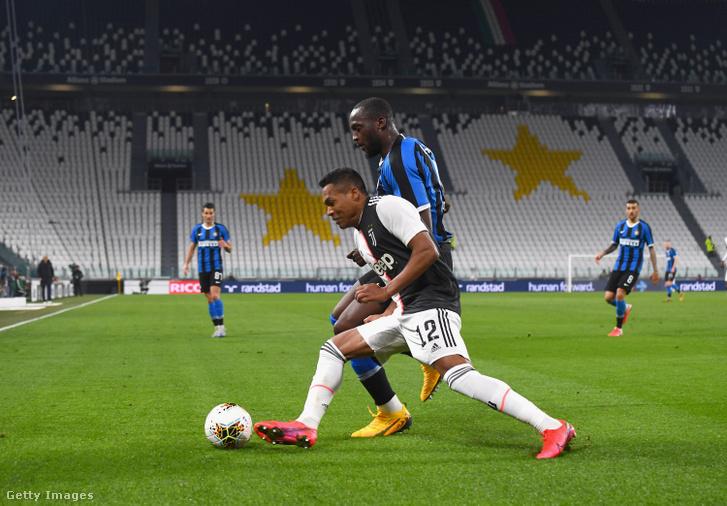 A Juventus - FC Internazionale zártkapus mérkőzése Torinóban 2020. március 8-án