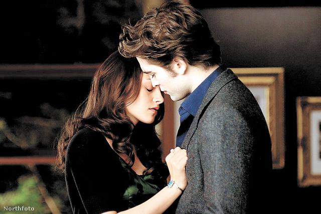 Stewart és Pattinson, valamelyik Alkonyat-filmben