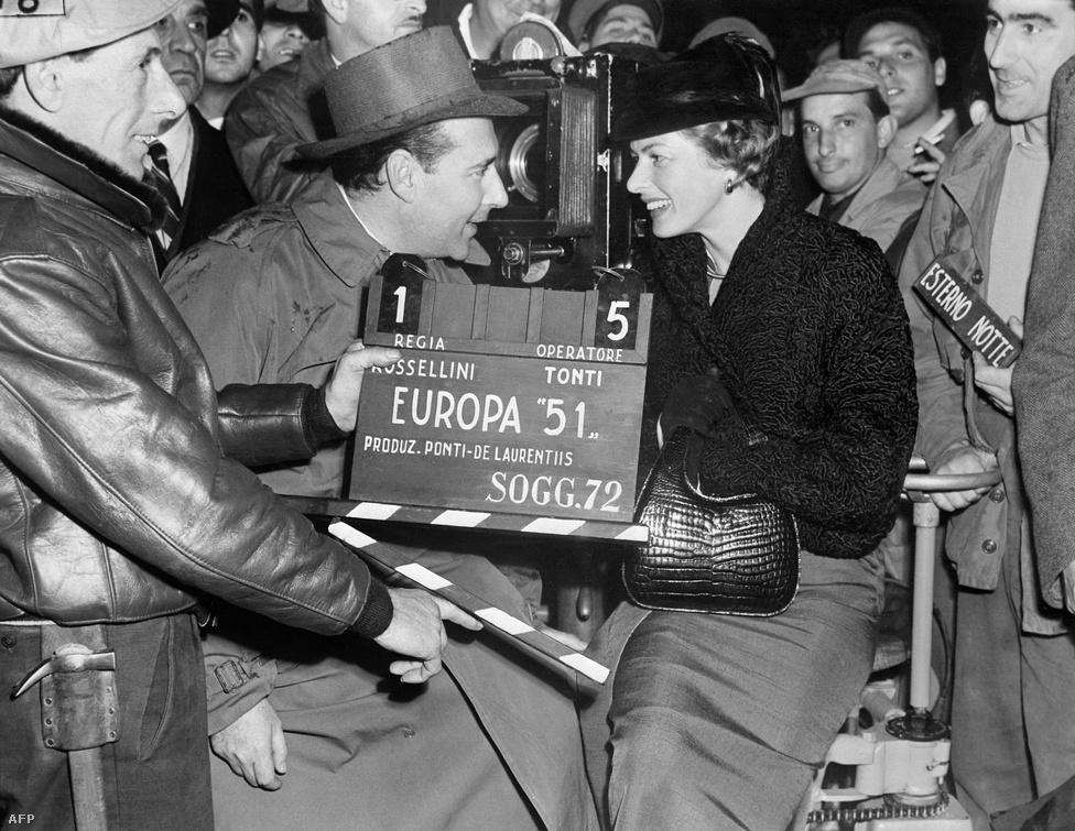 Rossellini és Bergman 1950-ben házasodott össze. Februárban megszületett első közös gyermekük, Robertino. Kapcsolatuk óriási botrányt robbantott ki az Egyesült Államokban. A közfelháborodás hatására Ed Sullivan elutasította, hogy meghívja műsorába a színésznőt. A családját szintén elhagyó Rossellinitől a katolikus közösségek fordultak el.