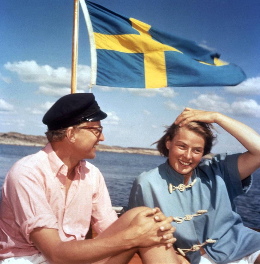 Ingrid 1958-ban házasodott össze Lars Schmidt svéd producerrel, akivel közel húsz évig éltek együtt. Schmidttől sosem született gyermeke.