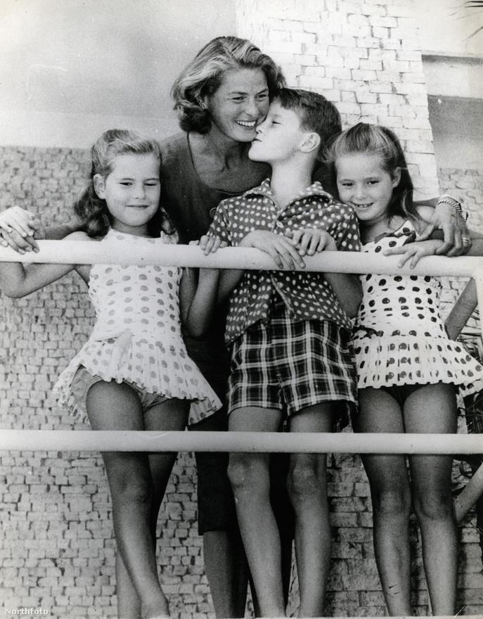 Roberto Rossellinitől három gyermeke született Ingridnek, közülük Isotta Ingrid és Isabella ikrek voltak. Válásuk után a gyerekek Ingridhez kerültek. Isotta 1976-ban sminkesként működött közre az anyja Idő kérdése című filmjénél, jelenleg a Harvard Egyetemen tanít olasz irodalmat, Isabella pedig ismert modell és színésznő lett.
