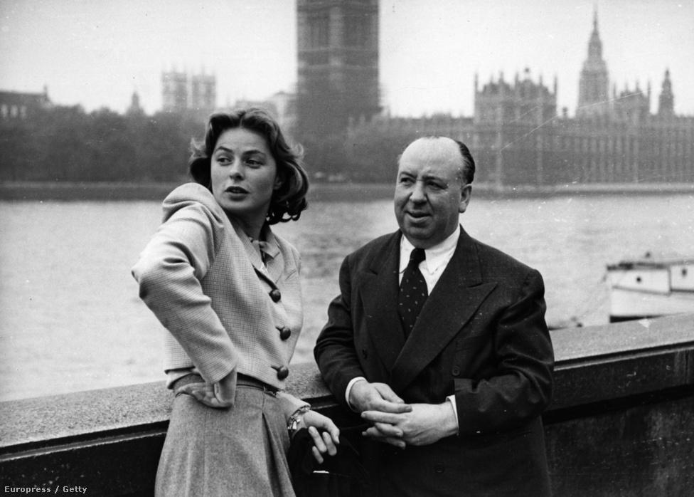 ngrid Bergman három filmben dolgozott együtt Alfred Hitchcockkal. Utolsó közös munkájuk az 1949-ben bemutatott A Baktérítő alatt című történelmi dráma volt. A kosztümös film anyagilag bukást jelentett a rendezőnek, mivel a közönség inkább egy thrillert várt Hitchcocktól.