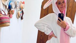 Katy Perry nyúljemezben mutatta meg pocakját, Irina Shaykból mém lett, Zsidró Tamásék online locsolkodtak